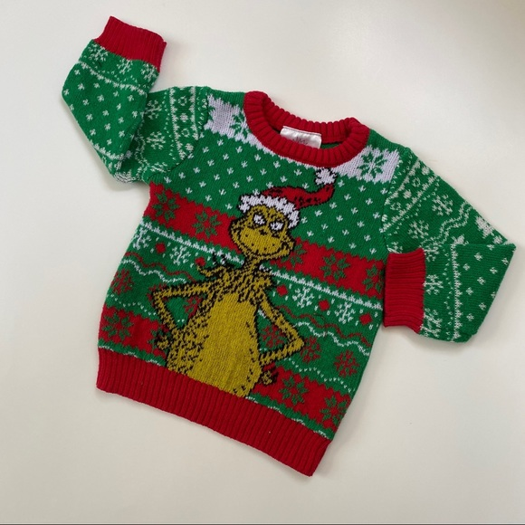 The Grinch Holiday Ugly Christmas Sweater